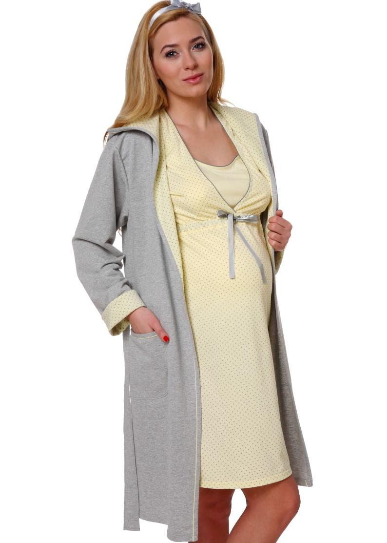 b612099b9b011c Komplet/ wyprawka KOMFORT - Koszula do karmienia + Szlafrok – HALTEX ...
